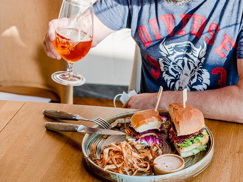 Lubelskie piwo i dobry burger